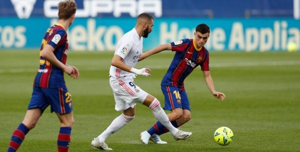 موعد مشاهدة مباراة برشلونة وريال مدريد اليوم الاحد 24/10/2021 مباراة الكلاسيكو